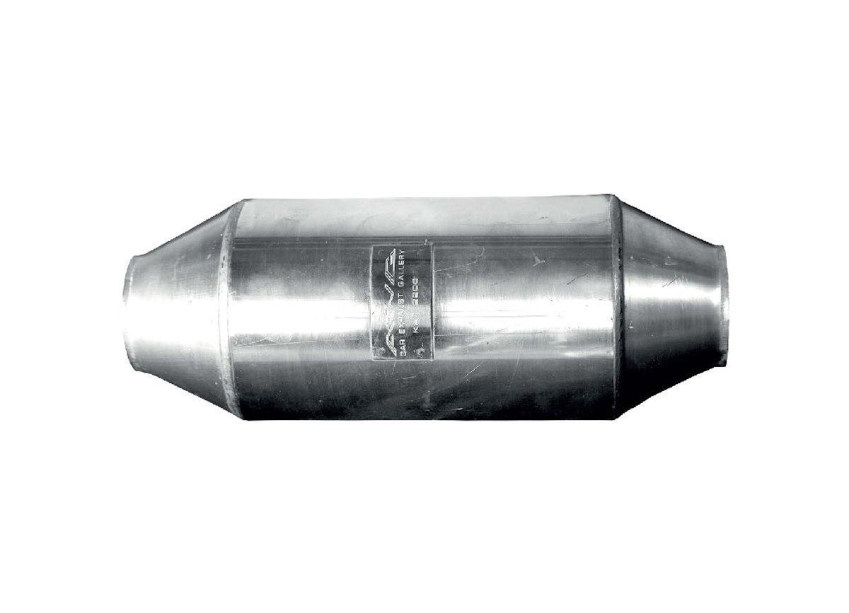 Katalizator uniwersalny FI 60 3-5L EURO 4 - GRUBYGARAGE - Sklep Tuningowy